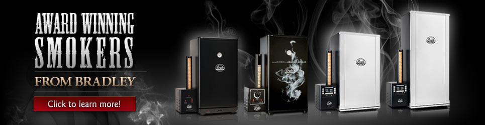Award Winning Bradley Electric Smokers